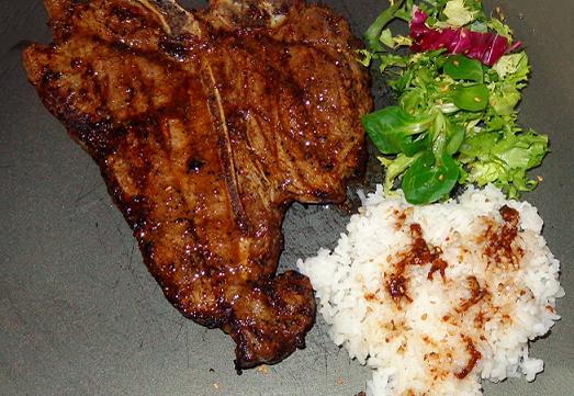 T-Steak teriyakeado