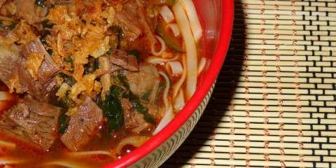 Yakigai carne
